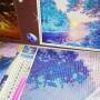 Купить алмазную мозаику Терраса Брюля в Дрездене, 30*40 см, без подрамника, в коробке, H9014