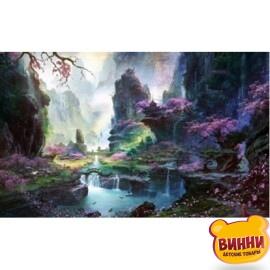 Купить алмазную мозаику Цветущий каньон 30*40 см, с рамкой, в коробке, H8512