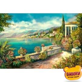Купить алмазную мозаику Цветущая Италия 30*40 см, с рамкой, в коробке, H8575