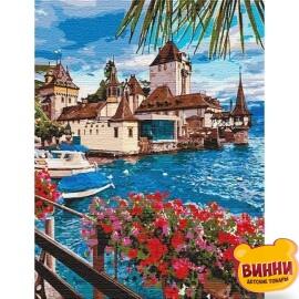 Купить картину по номерам Идейка Волшебная Швейцария, 50*65 см KHO12253