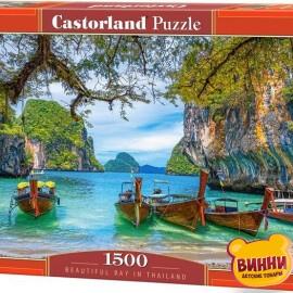"""Кастор пазлы 1500 """"Красивый залив в Тайланде""""68*47 см, С-151936"""