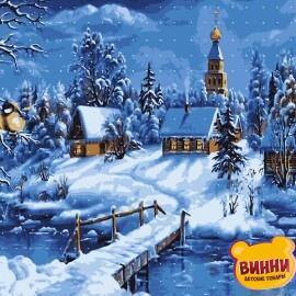 Купить картину по номерам Artissimo Зима, 40*50 см, PN2756