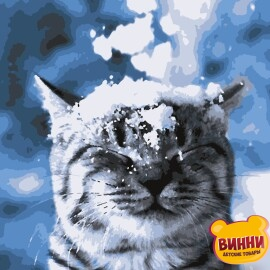 Купить картину по номерам Artissimo Зима пришла!, 40*50 см, PN4211