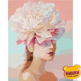 Купить картину по номерам Идейка Цветочные мысли, 40*50 см KHO4765
