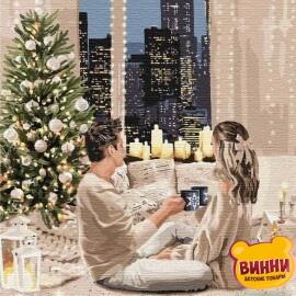 Купить картину по номерам Идейка Лучший Новый год, 40*50 см KHO4771