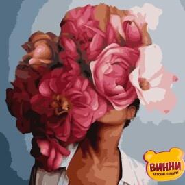 Купить картину по номерам Artissimo Эми Джад Абстракция с пионами, 40*50 см, PN7604. 50*60 см, PNX7604