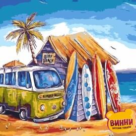 Купить картину по номерам ArtStory AS0203 Гавайские каникулы