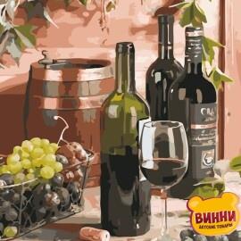 Купить картину по номерам ArtStory AS0643 Вино для гурмана