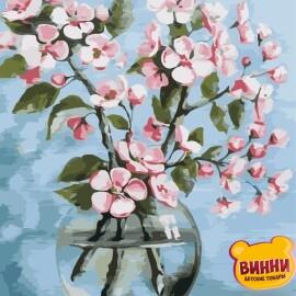 Купить картину по номерам ArtStory AS0844 Цветы сакуры