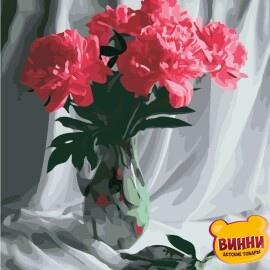 Купить картину по номерам ArtStory AS0849 Бархатные пионы