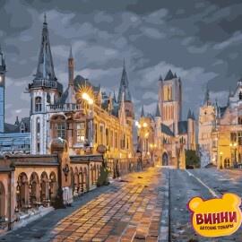 Купить картину по номерам ArtStory AS0857 Вечер в Бельгии