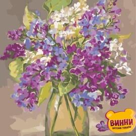 Купить картину по номерам ArtStory AS0930 Разноцветная сирень