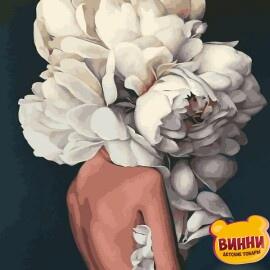 Купить картину по номерам Mariposa Женственные пионы, худ. Эми Джадд, 40*50 см, Q2236