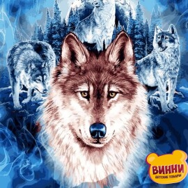 Купить картину по номерам Mariposa Волки, 40*50 см Q2246