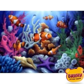 Купить алмазную мозаику Коралловый риф, 30*40 см, без подрамника, в коробке, H8387
