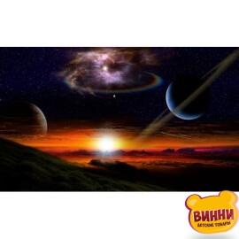 Купить алмазную мозаику Кольца Сатурна, 30*40 см, без подрамника, в коробке, H8665