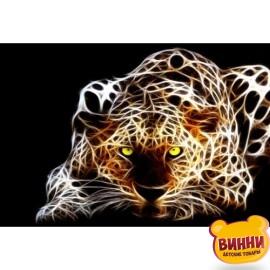 Купить алмазную мозаику Леопард, 30*40 см, без подрамника, H8788