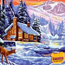 Купить картину по номерам Babylon Зима, 30*40 см VK265