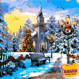 Купить картину по номерам Babylon Рождественское настроение. Доминик Дэвисон, 40*50 см VP1262