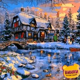 Купить картину по номерам Babylon Зима за городом. Доминик Дэвисон, 40*50 см VP1266