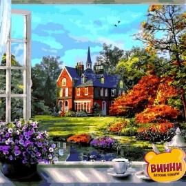 Купить картину по номерам Babylon Окно в весну. Доминик Дэвисон, 40*50 см VP1273