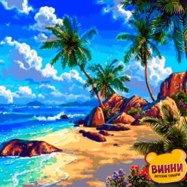 Купить картину по номерам Babylon Райское место, 40*50 см VP1293