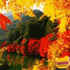 Купить картину по номерам Artissimo Яркая осень, 40*50 см, PN0166