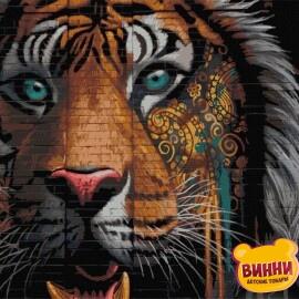 Купить картину по номерам Art Craft Несокрушимый взгляд, тигр, 40*50 см 11623