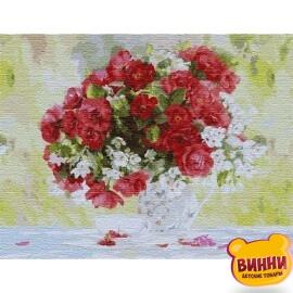 Купить картину по номерам Идейка Цветущее удовольствие, 50*65 см KHO13118
