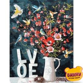 Купить картину по номерам Идейка С любовью ©Ira Volkova, 50*65 см KHO13119