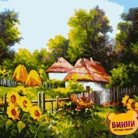 Купить картину по номерам Artissimo Украинскими тропинками, 40*50 см, PN1606