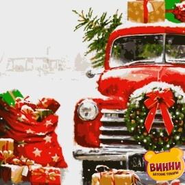 Купить картину по номерам Artissimo Новогодние подарки, 40*50 см, PN3709
