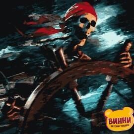 Купить картину по номерам Artissimo Пираты Карибского моря, 40*50 см, PN5467