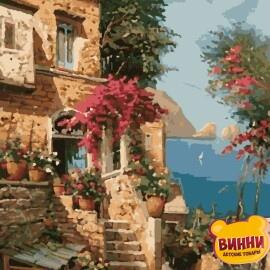Відпочинок на Середземномор'ї, 40*50 см, PN5513