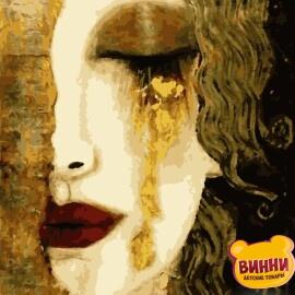 Купить картину по номерам Artissimo Золотые слезы, с золотой краской, 40*50 см, PN7506