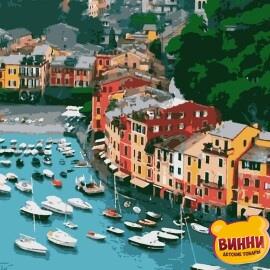 Купить картину по номерам Artissimo Портофино, 40*50 см, PN7709