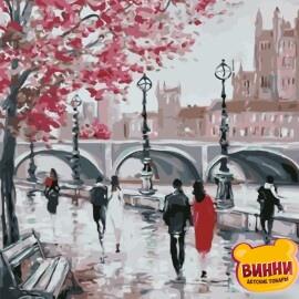 Купить картину по номерам ArtStory AS0647 Прогулка по набережной