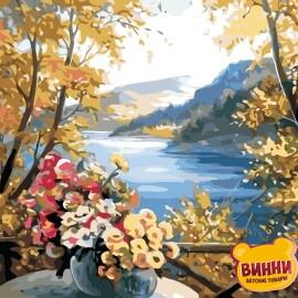 Купить картину по номерам ArtStory AS0863 Осенние цветы