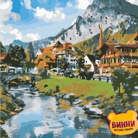 Купить картину по номерам ArtStory AS0864 Горная деревня