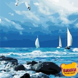 Купить картину по номерам ArtStory AS0866 Морской пейзаж