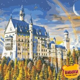 Купить картину по номерам ArtStory AS0955 Замок на горе