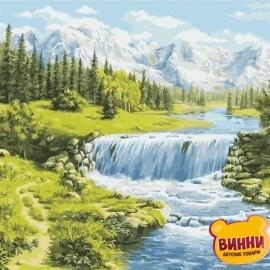 Купить картину по номерам ArtStory AS0957 Лето в горах