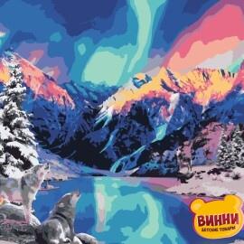 Купить картину по номерам ArtStory AS0958 Северное сияние