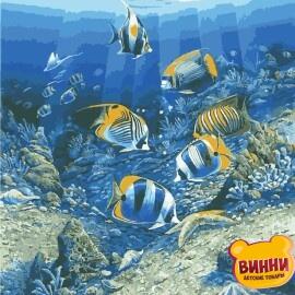 Купить картину по номерам ArtStory AS0966 Подводный мир
