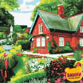 Купить картину по номерам ArtStory AS0973 Сказочный дом