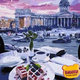 Купити картину за номерами Нікітошка Бельгійські вафлі 40*50 см, ATG0020