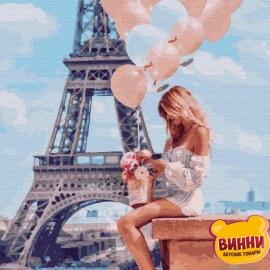 Купити картину за номерами Нікітошка Романтика у Парижі 40*50 см, GX26714