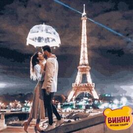 Купити картину за номерами Нікітошка Пара у Парижі 40*50 см, GX30381