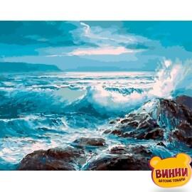 Купить картину по номерам Величественное море, 40*50 см, VA-2212