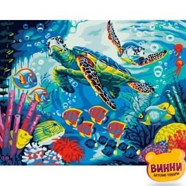 Купити картину за номерами Життя океану, 40*50 см, VA-2299